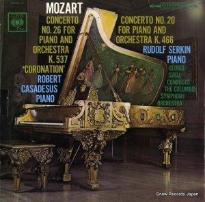 ロベール・カザドゥジュ - モーツァルト:ピアノ協奏曲第26番「戴冠式」&20番 - OS-411-C