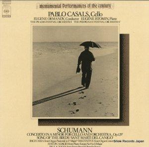 パブロ・カザルス - シューマン:チェロ協奏曲イ短調作品129 - SOCU11