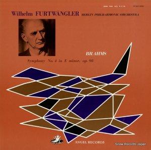 ヴィルヘルム・フルトヴェングラー - ブラームス:交響曲第4番ホ短調作品98 - WF-50011
