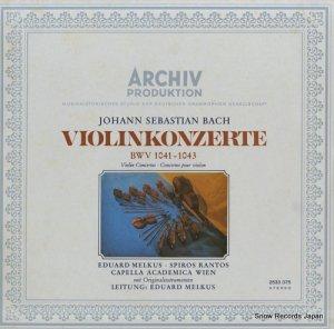 エドゥアルト・メルクス - バッハ:ヴァイオリン協奏曲集 - 2533075