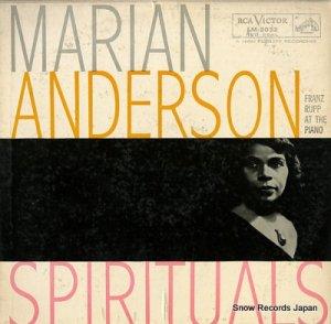 マリアン・アンダースン - spirituals - LM-2032
