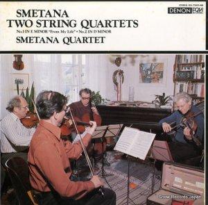 スメタナ四重奏団 - スメタナ:弦楽四重奏曲第1番「わが生涯より」、第2番 - OX-7049-ND