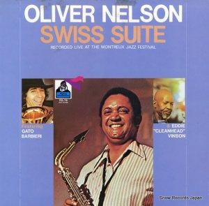 オリヴァー・ネルソン - スイス組曲 - PG-76