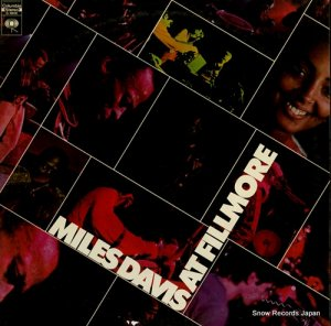 マイルス・デイヴィス - miles davis at fillmore - G30038