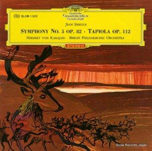 ヘルベルト・フォン・カラヤン - シベリウス:交響曲第5番変ホ長調作品112 - SLGM-1322