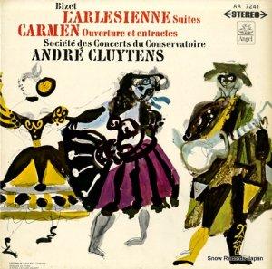 アンドレ・クリュイタンス - ビゼー:歌劇「カルメン」、「アルルの女」第1、2組曲 - AA-7241