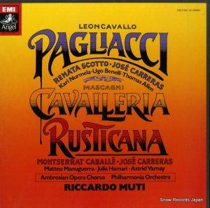 リッカルド・ムーティ - マスカーニ:歌劇「カヴァレリア・ルスティカーナ」 - EAC-77330-32