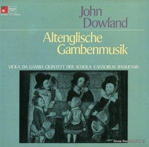 ジョン・ダウランド - altenglische gambenmusik - ULX-3045-H