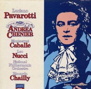 リッカルド・シャイー - ジョルダーノ:歌劇「アンドレア・シェニエ」全曲 - L75C-1811/3