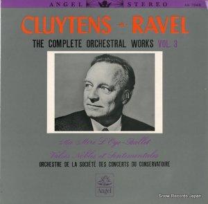 アンドレ・クリュイタンス - ラヴェル:管弦楽曲全集第3集 - AA.7565