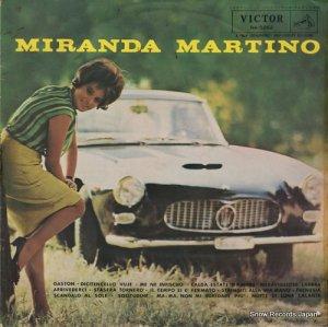 ミランダ・マルティノ - イタリアン・ヒット・ソング/ミランダ・マルティノ登場 - RA-5262