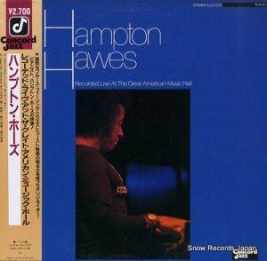 ハンプトン・ホーズ - レコーデッド・ライヴ・アット・ザ・グレイト・アメリカン・ミュージック・ホール - LCJ-7010