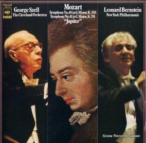 ジョージ・セル/レナード・バーンスタイン - モーツァルト:交響曲第40番&第41番 - SOCJ19