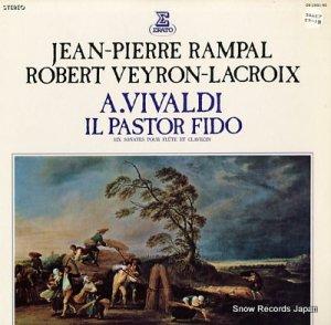 ジャン=ピエール・ランパル - ヴィヴァルディ:忠実なる羊飼 六つのフルート・ソナタ集 - OS-2851-RE