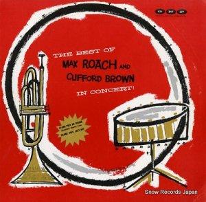 マックス・ローチ&クリフォード・ブラウン - the best of max roach and clifford brown in concert - GNP-18