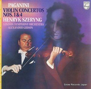 ヘンリック・シェリング - パガニーニ:ヴァイオリン協奏曲第1番ニ長調作品6 - 20PC-1023