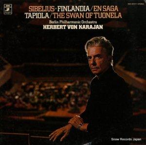 ヘルベルト・フォン・カラヤン - シベリウス:交響詩フィンランディア/伝説 - EAC-80377