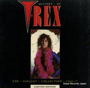 T.レックス - history of t.rex - WARRIOR1-4