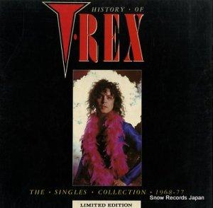 T.レックス - history of t.rex - WARRIOR1-4