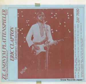 エリック・クラプトン - slowhand live in boston - ZAP7880