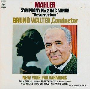 ブルーノ・ワルター - マーラー:交響曲第2番ハ短調「復活」 - 46AC611-2
