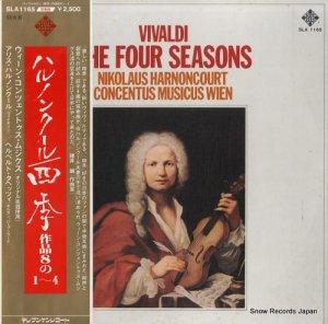 ニコラウス・アーノンクール - ヴィヴァルディ:四季作品8の1〜4 - SLA1165