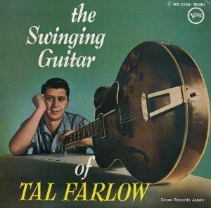 タル・ファーロウ - スウィンギング・ギター・オブ・タル・ファーロウ - MV2504