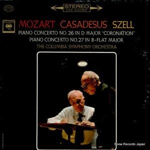 ロベール・カザドゥジュ - mozart; piano concerto no.26