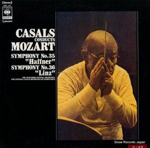 パブロ・カザルス - モーツァルト:交響曲第35番「ハフナー」&36番「リンツ」 - SOCL135