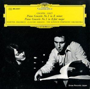 マルタ・アルゲリッチ - ショパン:ピアノ協奏曲第1番ホ短調作品11 - MG-2057