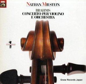 ナタン・ミルシテイン - brahms; concerto per violino e orchestra - 1800191