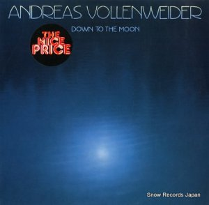 アンドレアス・フォーレンヴァイダー - down to the moon - CBS57001