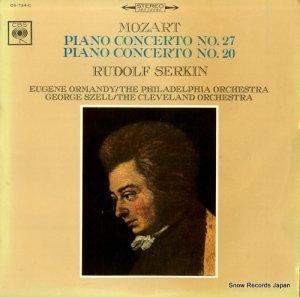 ルドルフ・ゼルキン - モーツァルト:ピアノ協奏曲第27番&第20番 - OS-734-C