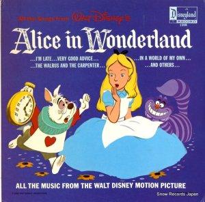 V/A - walt disney; alice in wonderland - DISNEYLAND1208