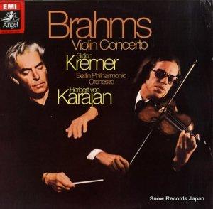 ギドン・クレーメル - brahms; violin concerto - ASD3261