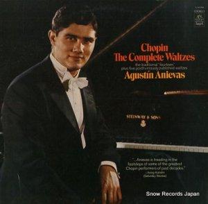 アグスティン・アニエヴァス - chopin; the complete waltzes - S-36598