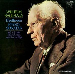 ウィルヘルム・バックハウス - ベートーヴェン:ピアノ・ソナタ第7、9、10、13番 - K20C-8633