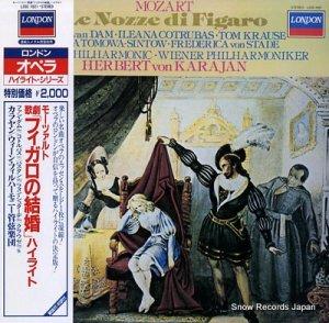 ヘルベルト・フォン・カラヤン - モーツァルト:歌劇「フィガロの結婚」ハイライト - L20C1821