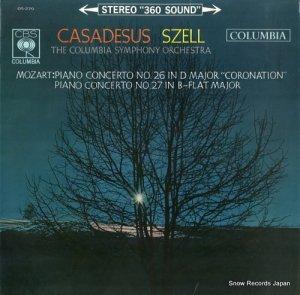 ロベール・カザドゥジュ - モーツァルト:ピアノ協奏曲第26番「戴冠式」 - OS-270
