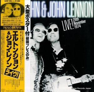 エルトン・ジョン&ジョン・レノン - ライヴ - K28P-200