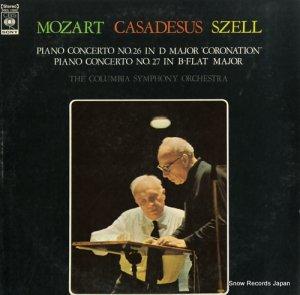 ロベール・カザドゥジュ - モーツァルト:ピアノ協奏曲第26番「戴冠式」 - SOCL1092