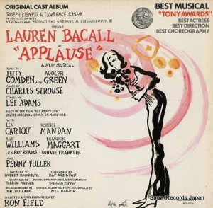 ローレン・バコール - applause - MCA-37100