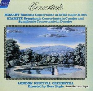 ロス・ポップル - mozart & stamitz; symphonie concertante - DCA-650