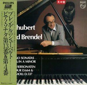 アルフレッド・ブレンデル - ブレンデルのシューベルト/ピアノ・ソナタ第13番&4番 - 28PC-69