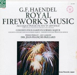 ジャン=フランソワ・パイヤール - ヘンデル:組曲「王宮の花火の音楽」 - 12E-1005