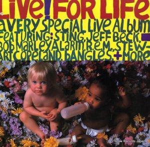 V/A - live ! for life - IRS-5731