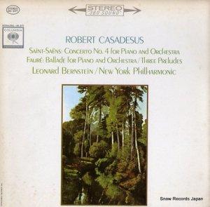 ロベール・カザドゥジュ - saint-saens; piano concerto no.4 - MS6377