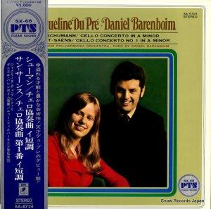 ジャクリーヌ・デュ・プレ - シューマン:チェロ協奏曲イ短調 - AA-8724
