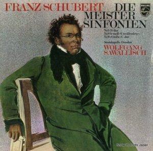 ヴォルフガング・サヴァリッシュ - schubert; die meister sinfonien - 61552 / 61553-4