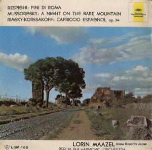 ロリン・マゼール - レスピーギ:交響詩「ローマの松」 - LGM-166
